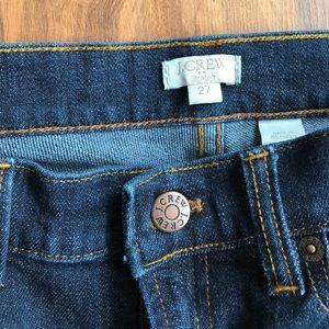J.Crew   slim straight jeans